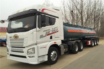 化工液体运输车(浓硫酸)