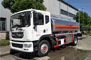 东风D9铝合金油罐车15吨